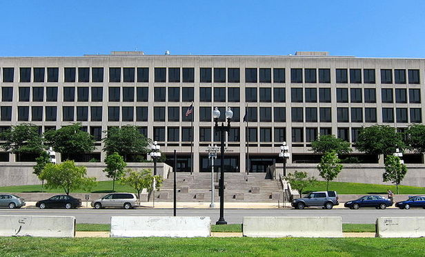 Department of Labor headquarters at the Frances Perkins Building in Washington, DC