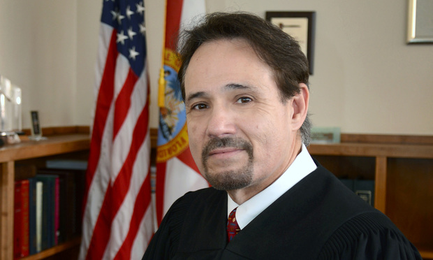 Broward County Court Judge Robert Lee