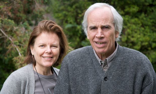 Douglas Tompkins with his wife Kris Tompkins.