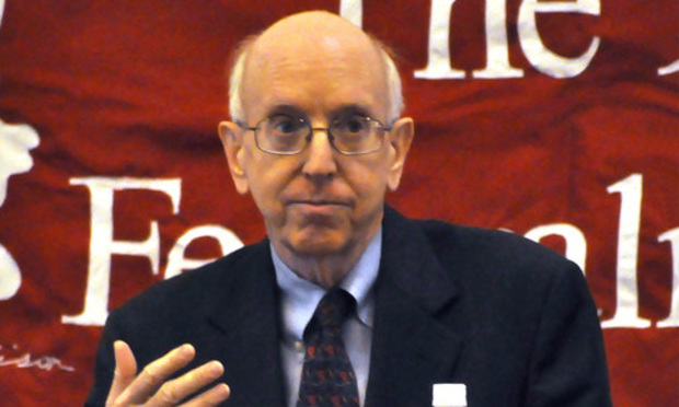 Judge Richard Posner of the U.S. Court of Appeals for the 7th Circuit, in Chicago.