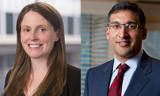 Left to right: Colleen Roh Sinzdak and Neal Katyal of Hogan Lovells