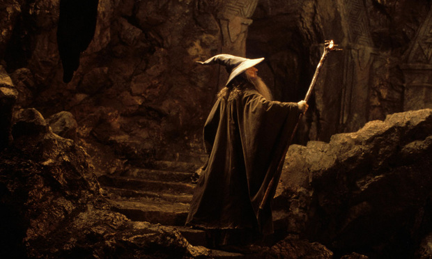 Still from the 2001 The Fellowship of the Ring film.