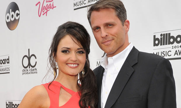 Danica McKellar and Scott Sveslosky at the 2014 Billboard Music Awards