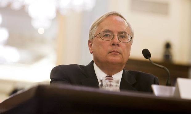 "Michael Millikin, executive vice president and general counsel of General Motors Company, testifying before the Senate Committee on Commerce, Science, and Transportation's Subcommittee on Consumer Protection, Product Safety, and Insurance during a hearing titled, ""Examining Accountability and Corporate Culture in Wake of the GM Recalls."""