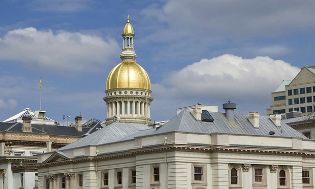 The New Jersey Statehouse