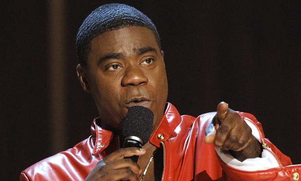 Actor Tracy Morgan speaks during the taping of the Spike TV special tribute Eddie Murphy: One Night Only at the Saban theatre in Beverly Hills, California in this November 3, 2012 file photo. Morgan was seriously hurt in a road accident involving six or more vehicles on the New Jersey Turnpike early June 7, 2014 according to news reports.