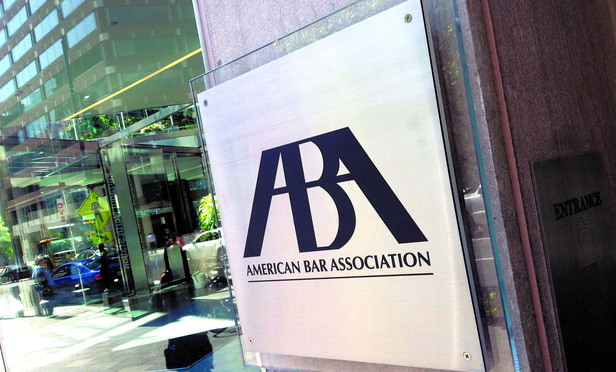 American Bar Association offices in Washington, D.C.