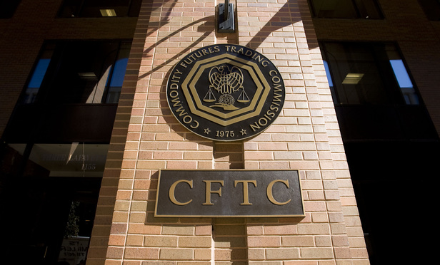 U.S. Commodity Futures Trading Commission (CFTC) building.