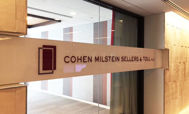 Cohen Milstein Sellers & Toll offices in Washington, D.C. September 10, 2015. Photo by Diego M. Radzinschi/THE NATIONAL LAW JOURNAL.