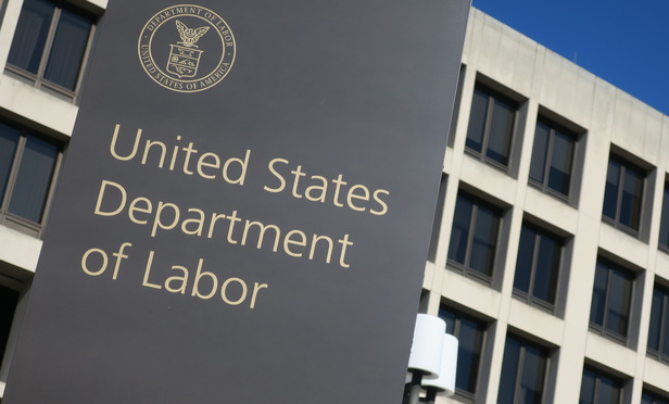 U.S. Labor Department in Washington, D.C.
