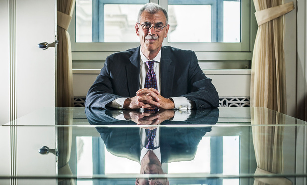 Former U.S. Solicitor General Donald Verrilli Jr. in his office at the U.S. Department of Justice in June.
