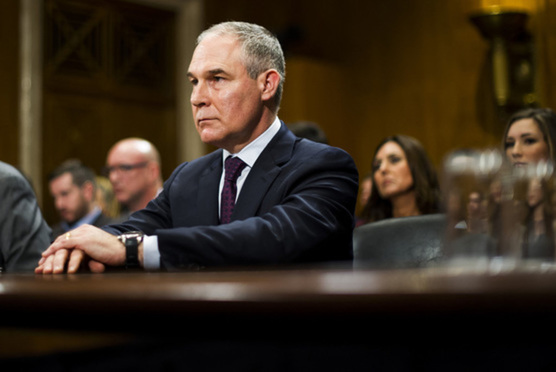 Environmental Protection Agency chief Scott Pruitt