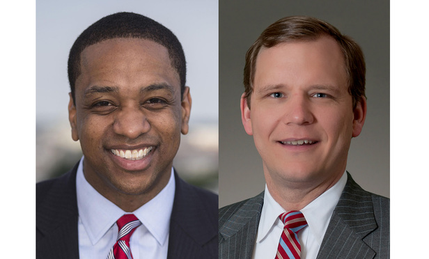 Justin Fairfax of Venable and John Adams of McGuireWoods