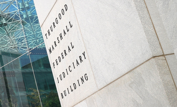 Thurgood Marshall Federal Judiciary Building.