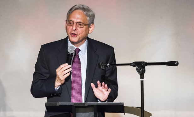 Supreme Court nominee Merrick Garland speaking during the J. O. Wilson Elementary School Fifth Grade Awards Banquet & Promotional Program, held at The Atlas Performing Arts Center, on Wednesday, June 15, 2016.