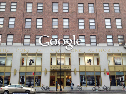 Google offices in New York City.