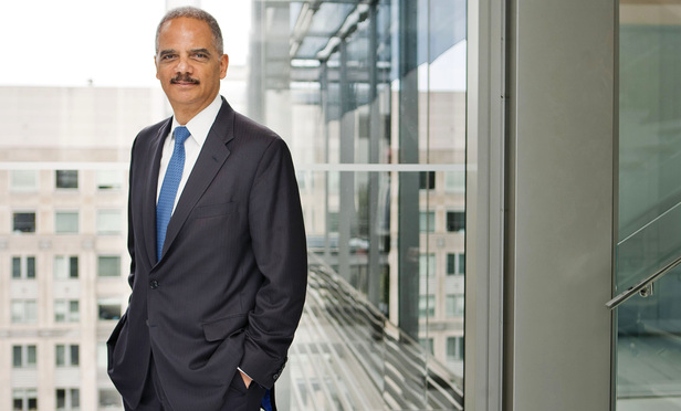 Eric Holder: No Apologies for Return to Big Law