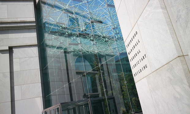 Thurgood Marshall Federal Judiciary Building in Washington, D.C.