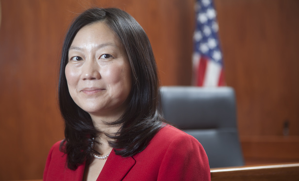 U.S. District Judge Lucy Koh, Northern District of California..Photo by Jason Doiy.8/2/2013.