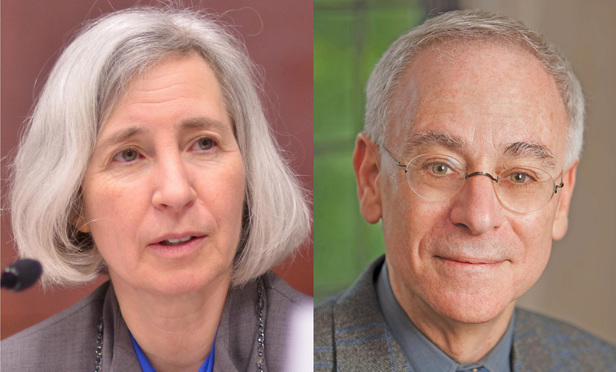 Martha Minow, left, and Robert Post, right.
