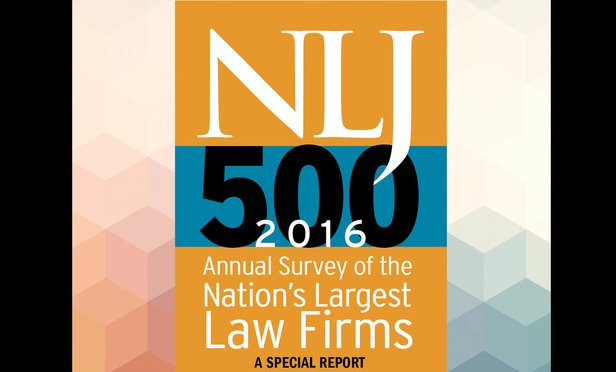 NLJ 500: A Robust Portrait of Big Law