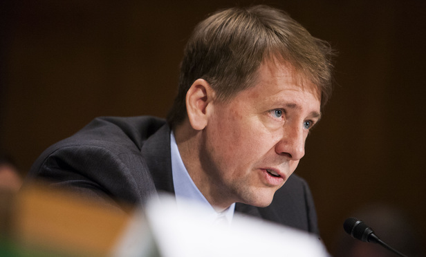 CFPB director Richard Cordray.