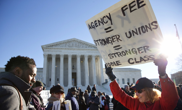Conservative Justices Skeptical of Public-Employer Union Fees