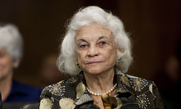 Retired Supreme Court justice Sandra Day O'Connor