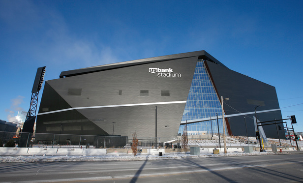 Minnesota Vikings Battle Wells Fargo over Blimp-View Stadium Signs