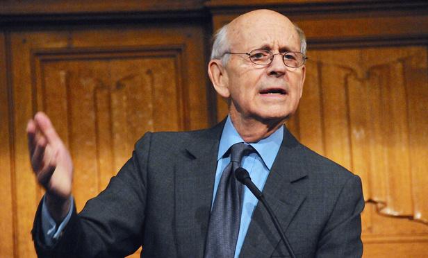 Breyer Renews Attack, Alone, on Capital Punishment