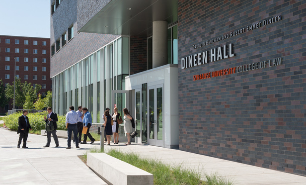 Dineen Hall at Syracuse University College of Law