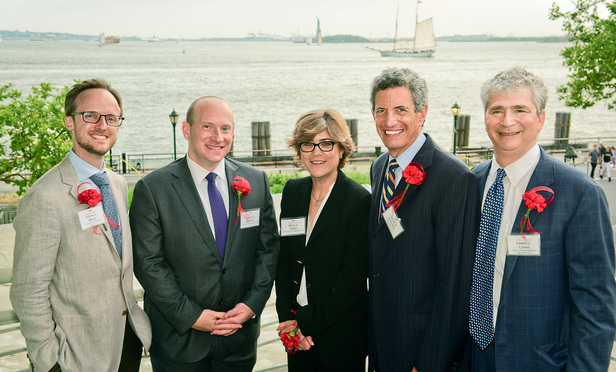 The Federal Bar Council presented its Thurgood Marshall Awards for exceptional pro bono service during their summer kickoff reception Thursday at Battery Gardens in Manhattan