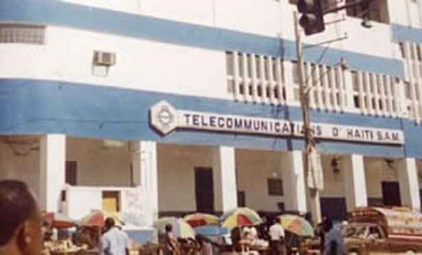 Les Telecommunications d 'Haiti's former headquarters in port-au-prince
