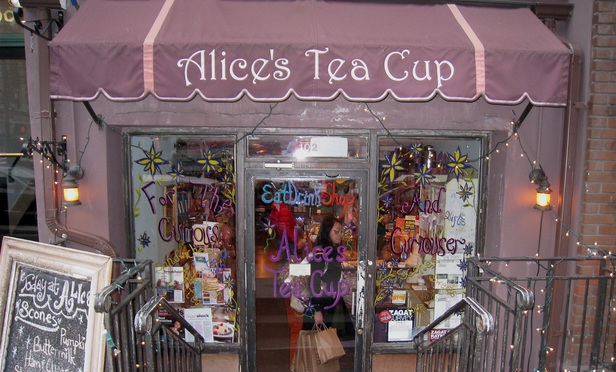Alice's Tea Cup at 102 West 73rd St.