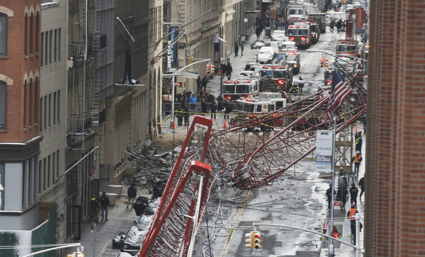 Crane Collapse Impacts Legal Community in Manhattan
