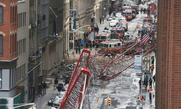 Crane Collapse Impacts Legal Community