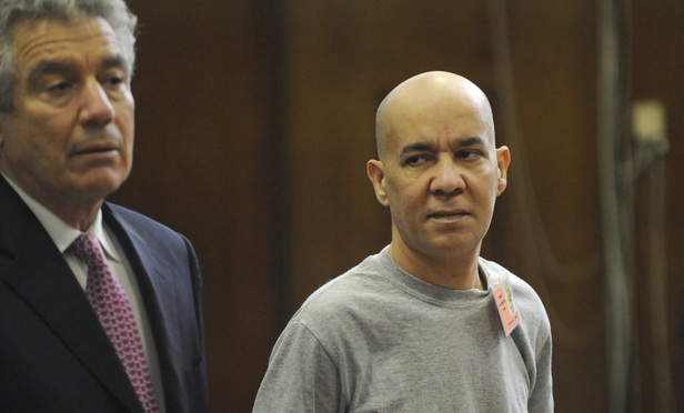 Pedro Hernandez, right, appears in Manhattan Supreme Court with his attorney, Harvey Fishbein, on Nov. 15, 2012.