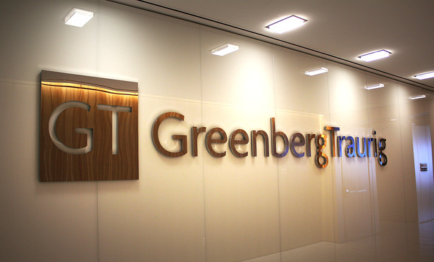 Greenberg Traurig sign