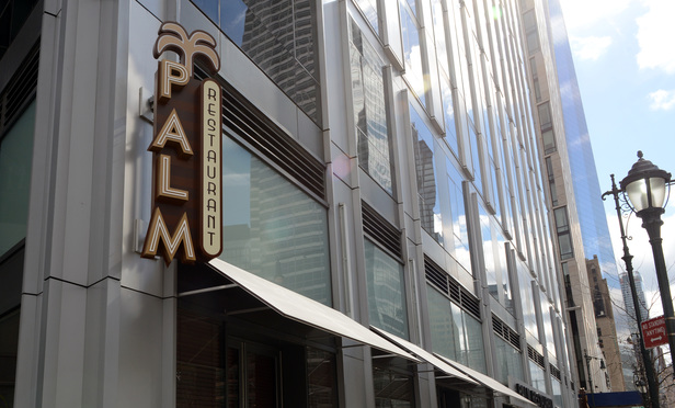 Palm Restaurant at 206 West St.
