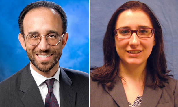 Barry Temkin and Kate DiGeronimo