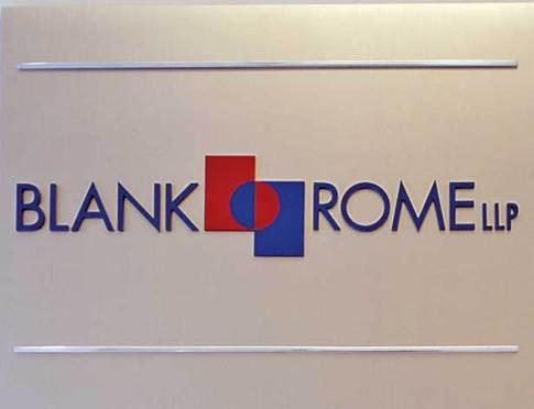 Former IP Partner Sues Blank Rome, Chairman