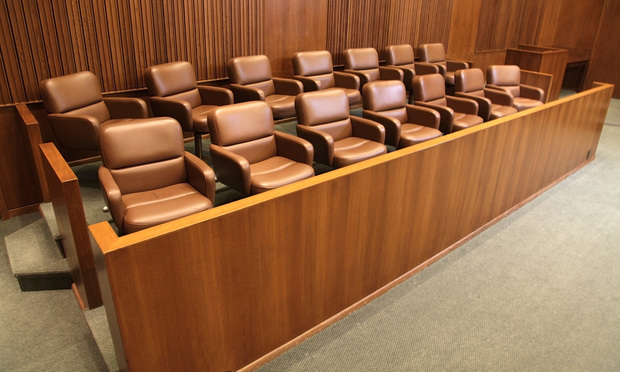 Jury box. 2-9-11. Photo by Jason Doiy...
