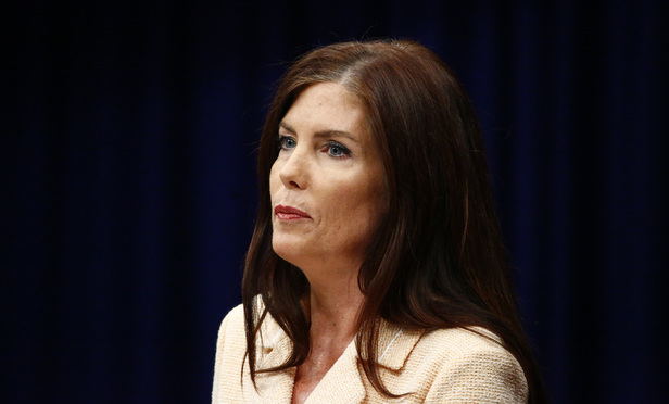 Pennsylvania Attorney General Kathleen Kane speaks during a news conference Aug. 12 at the State Capitol in Harrisburg.