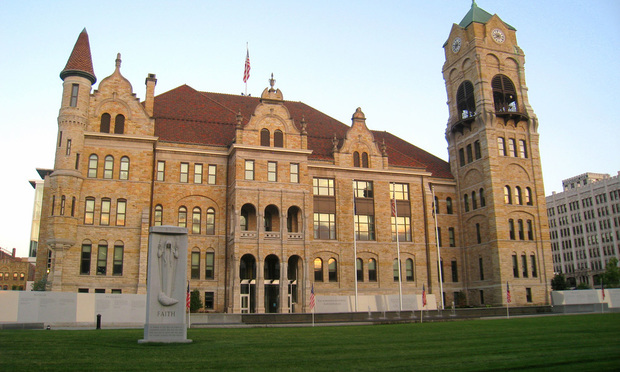 Lackawanna County Courthouse, Scranton, Pennsylvania.