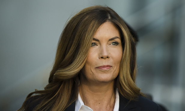 Former Pennsylvania Attorney General Kathleen Kane arrives at Montgomery County courthouse for her sentencing hearing in Norristown, Pa., Monday, Oct. 24, 2016. Kane was sentenced Monday to 10 to 23 months in jail for illegally disclosing details from a grand jury investigation to embarrass a rival and lying about it under oath. (AP Photo/Matt Rourke)