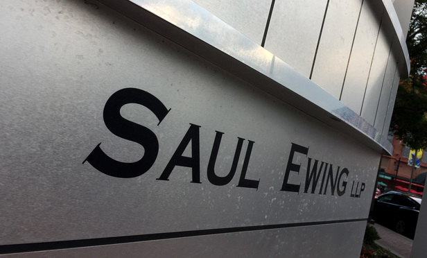 Saul Ewing offices in Baltimore, MD.