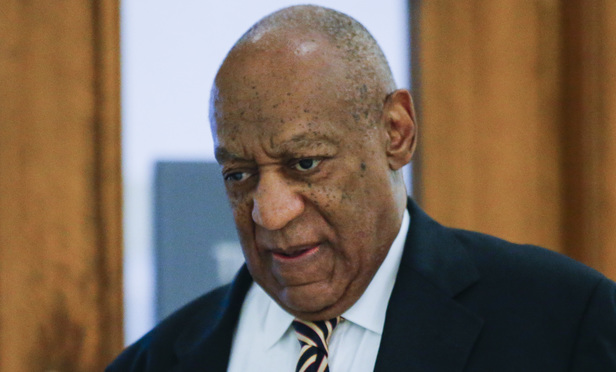 Actor Bill Cosby arrives at the Montgomery County Courthouse on June 5, 2017. in Norristown, Pennsylvania. (AP Photo)