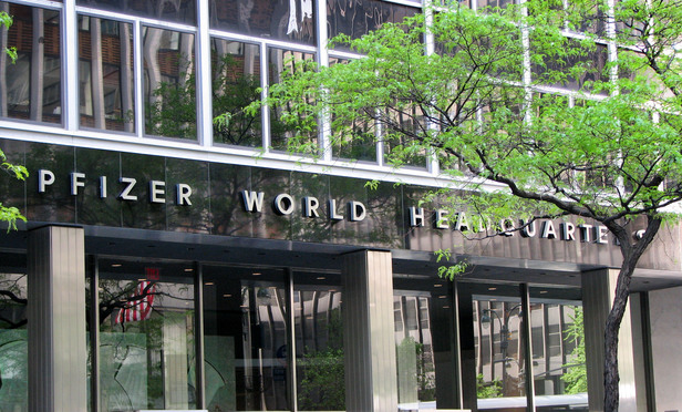 Pfizer World Headquarters.