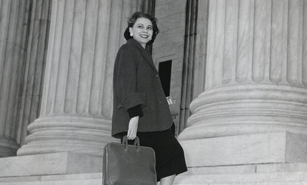 SCOTUS Advocate Bessie Margolin Finds Place in History