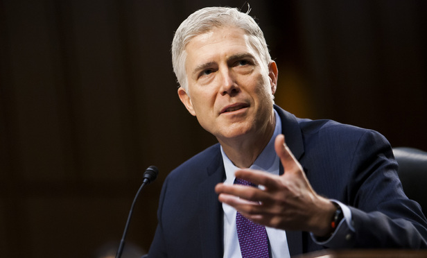 Justice Neil Gorsuch.